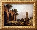 Canaletto (attr.), la basilica di massenzio, 1742-45.jpg