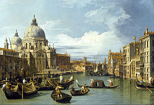 The Entrance to the Grand Canal, Venice - Image: Canaletto The Entrance to the Grand Canal, Venice Google Art Project