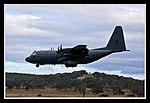 Canberra Airport C130H landing-01 (5513296657).jpg