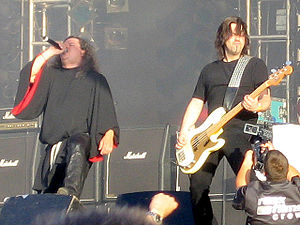 Candlemass - Messiah and Leif at Wacken Open Air 2005