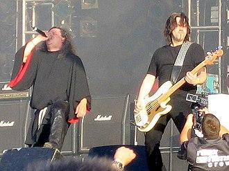 Candlemass - Messiah and Leif at Wacken Open Air 2005