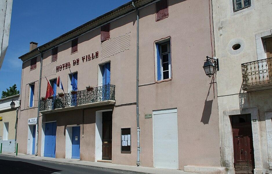 Canet (Hérault) - mairie.