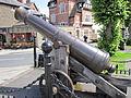 Cannon outside Ludlow Castle - IMG 0194.JPG