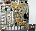 Canon Pocketronic Master Clock and Timing Circuitry PCB version 1971.jpg