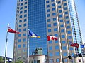 Canwest Place and Flags - panoramio.jpg