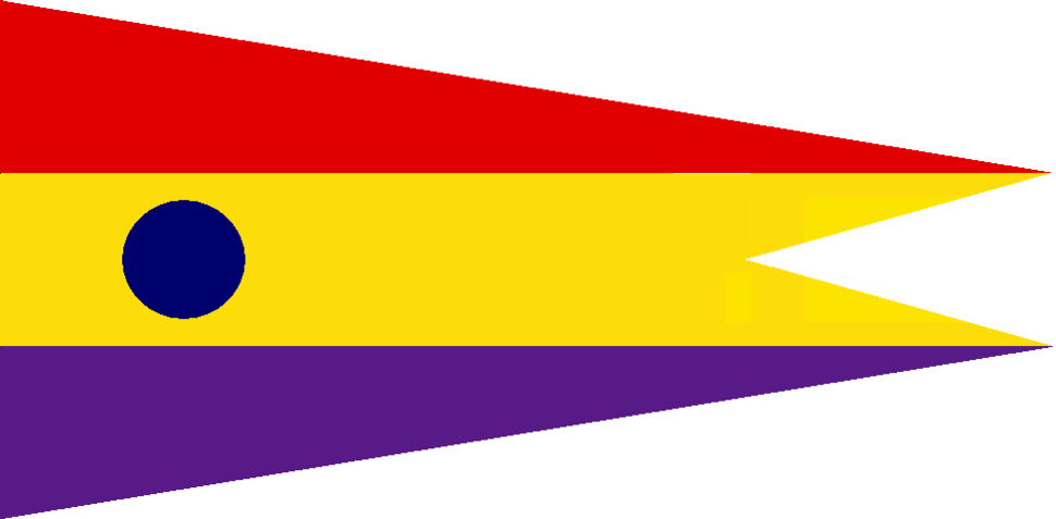 Captain at Sea Pennant Spanish Republican Navy - Squadron