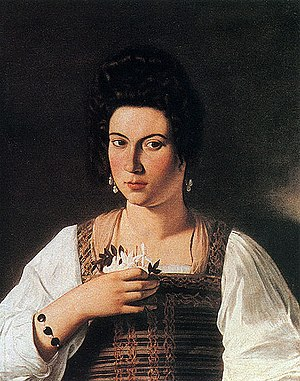 Lost artworks - Portrait of a Lady by Caravaggio, formerly in the Kaiser-Friedrich-Museum, Berlin