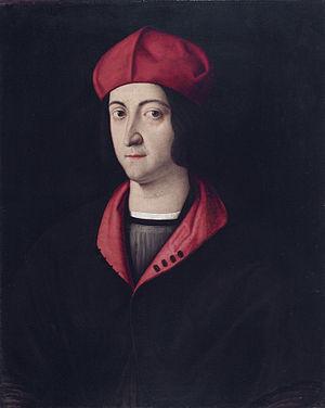 Ippolito d'Este - Image: Cardinal Ippolito d'Este, by Bartolomeo Veneto (1502 1531)