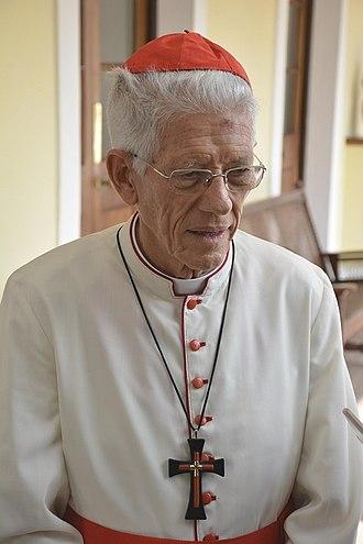 Maurice Piat - Image: Cardinal Maurice Piat 2017