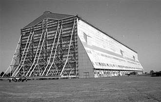 R101 - One of the airship sheds at Cardington