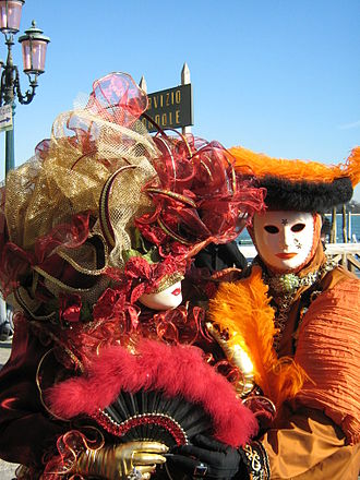 Ritual - Masquerade at the Carnival of Venice.