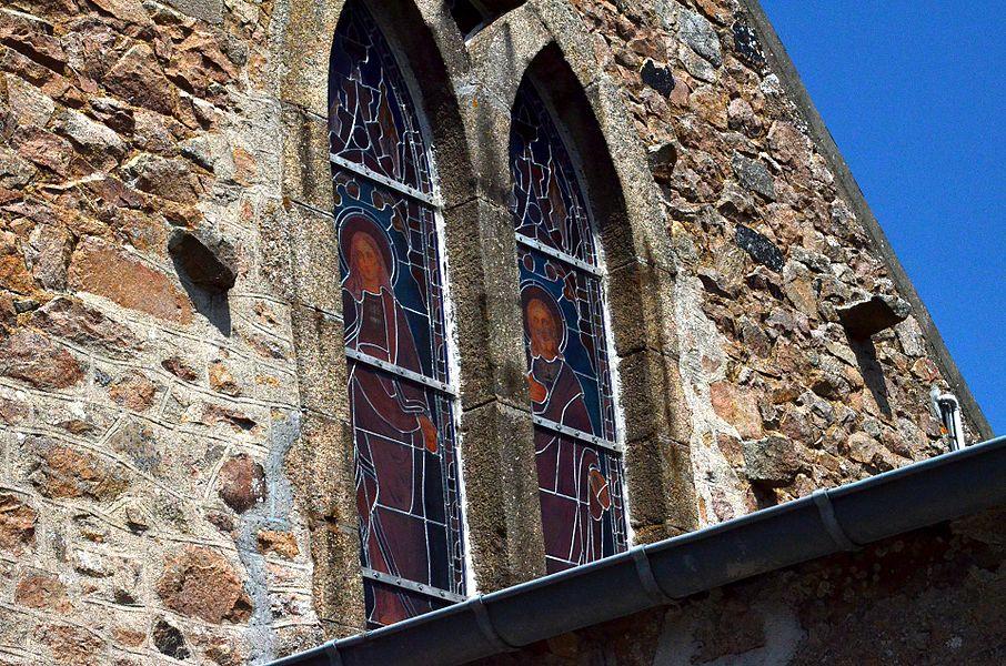 Vitrail de l'église Saint-Malo de Carneville.