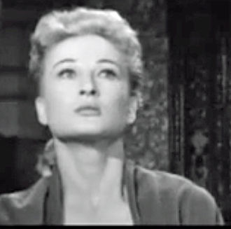 Carol Ohmart - Ohmart in trailer to House on Haunted Hill (1959)
