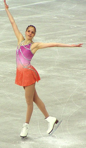 Carolina Kostner - Kostner in 2004
