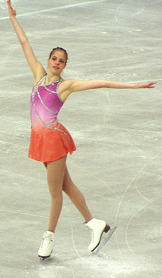 Carolina Kostner - Kostner in 2004