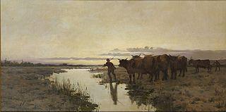 Home amb bous