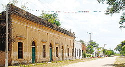 Colonial houses in Humaitá