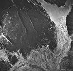 Casement Glacier, valley glacier terminus and outwash plain into Adams Inlet, August 24, 1963 (GLACIERS 5281).jpg