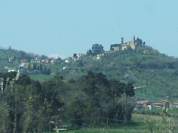 Vista of Castelbellino