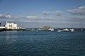 Castillo de San Gabriel desde el puerto de Arrecife.jpg