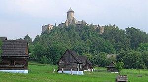 Stará Ľubovňa - Stará Ľubovňa Castle and an open-air folk museum