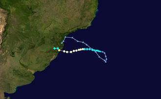 Hurricane Catarina - Image: Catarina 2004 track