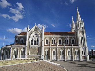 Sacred Heart Cathedral, Petrolina - Another View