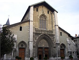 Roman Catholic Archdiocese of Chambéry–Saint-Jean-de-Maurienne–Tarentaise - Chambéry Cathedral