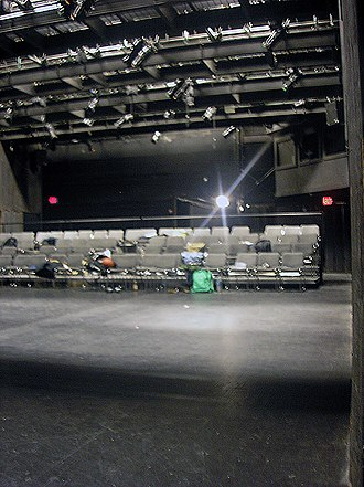 University of Pittsburgh Stages - Pitt Stages' black box space is the Studio Theatre located in the lower level of the Cathedral of Learning