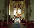 Caythorpe St Vincent - Chancel, crossing and nave from east.jpg