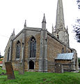 Caythorpe St Vincent - Church from the south-west.jpg