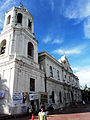 Cebu Metropolitan Cathedral side view Cebu City.JPG