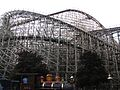 Cedar Point Judy K. and Mean Streak (28656727891).jpg
