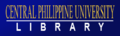 Central Philippine University Library Banner.png