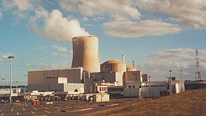 Nuclear power in France - The Civaux site houses two 1450 MWe class reactors, the most recent design operating today
