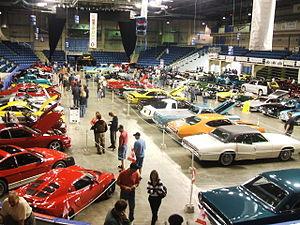 Auto show - Antique and custom car show at Centre 200