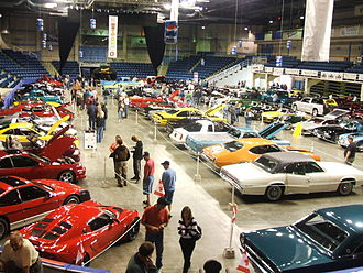 Auto show - Antique and custom car show at Centre 200