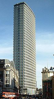 Centre Point Building in Central London, England