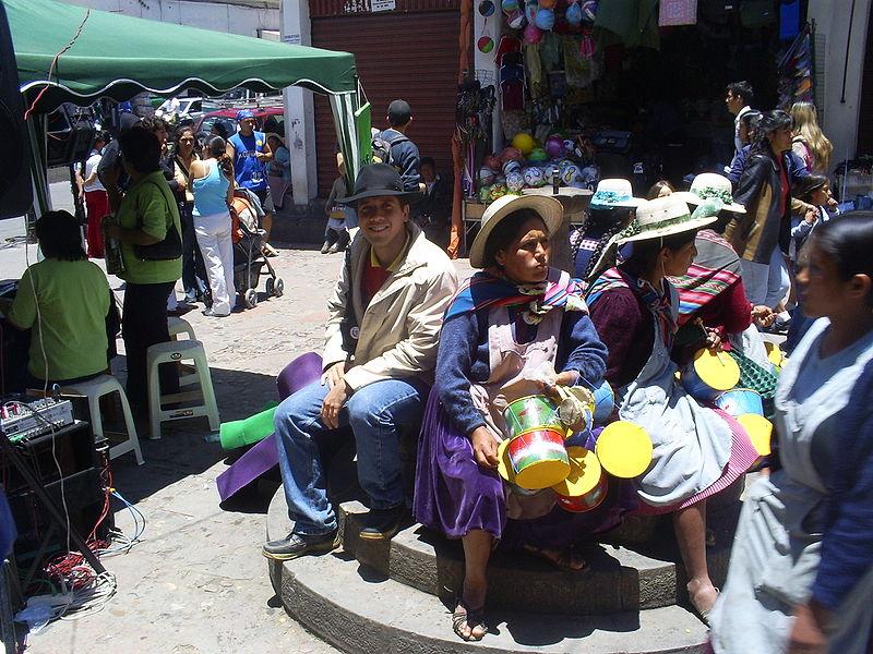File:Centro de La Paz en Bolivia.JPG