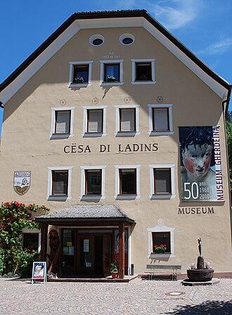 Museum Gherdëina - Image: Cesadiladins