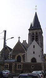 The church of Saint-Germain l'Auxerrois