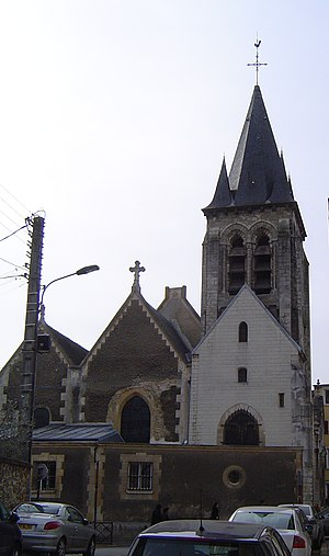 Châtenay-Malabry - The church of Saint-Germain l'Auxerrois