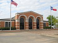 Chamber of Commerce and visitor information center, City of Conroe, TX.