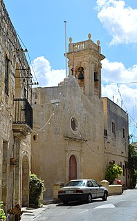 Santa Marija Chapel Church in Żabbar, Malta