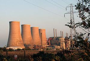 Chapelcross nuclear power station - Chapelcross nuclear power station in 2006