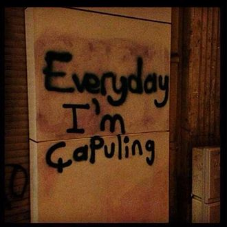 Party Rock Anthem - Graffiti from a chapulling day in Turkey, 2013.