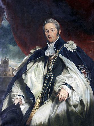Charles Sumner (bishop) - Portrait by Sir Martin Archer Shee, 1833
