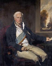 Porträt von Karl August Fürst von Hardenberg, Gemälde von Thomas Lawrence (Quelle: Wikimedia)