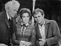 Charles Bickford Sara Lane Don Quine The Virginian.JPG