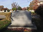 Charles Francis Jenkins tombstone at Rock Creek Cemetery, DC.JPG